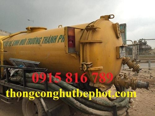 Hút bể phốt cụm CN – TTCN Thanh Hà