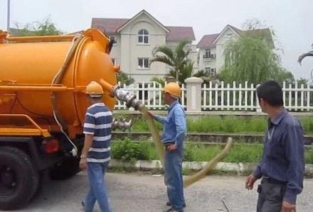 Hút bể phốt tại Yên Bái