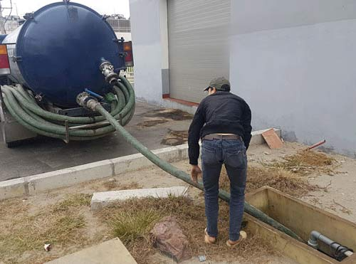 Hút bể phốt cụm CN Đà Bắc