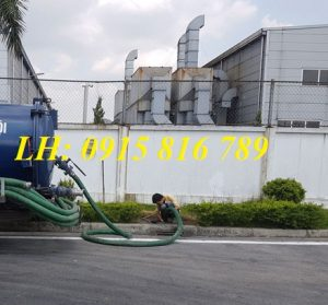 Hút bể phốt KCN Khai Quang