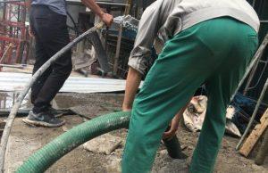 hút bể phốt cụm công nghiệp Thung Lai