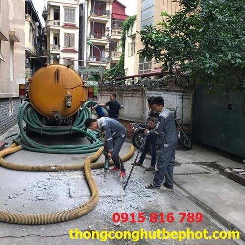 hút bể phốt tại Sơn La