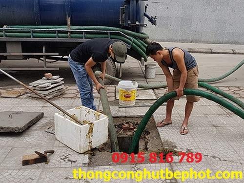 hút bể phốt tại Thường Tín