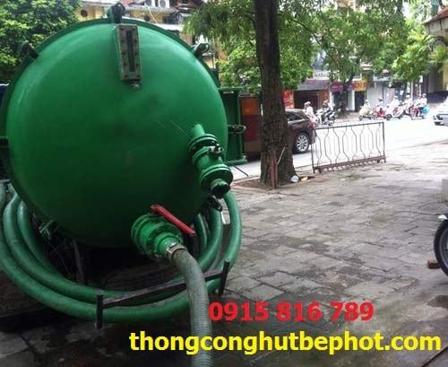 hút bể phốt tại Vĩnh Yên