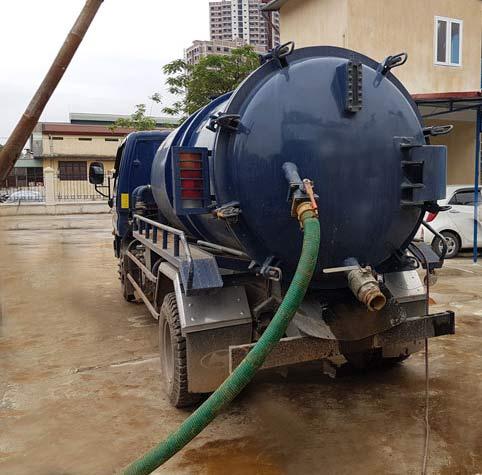 hút bể phốt tại Bình Đà