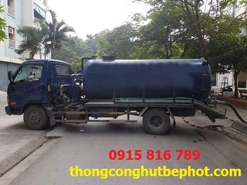 Hút bể phốt tại Chí Linh
