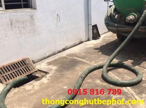 hút bể phốt tại Quảng Ninh