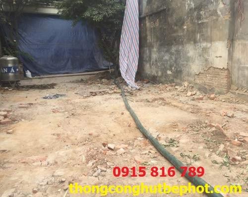 hút bể phốt tại Vĩnh Tường