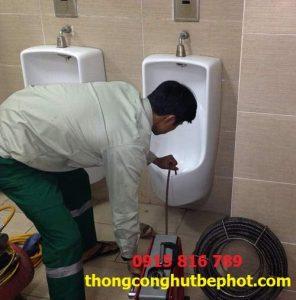 Thông tắc cống tại Hà Nội