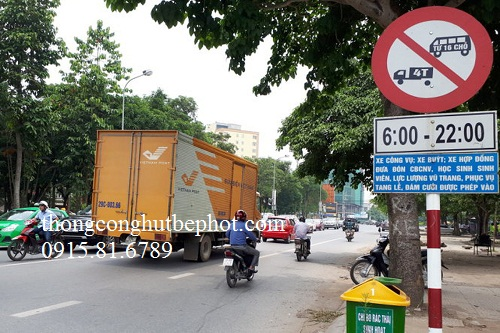 biển cấm xe tải