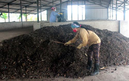 phân bón từ chất thải sinh hoạt
